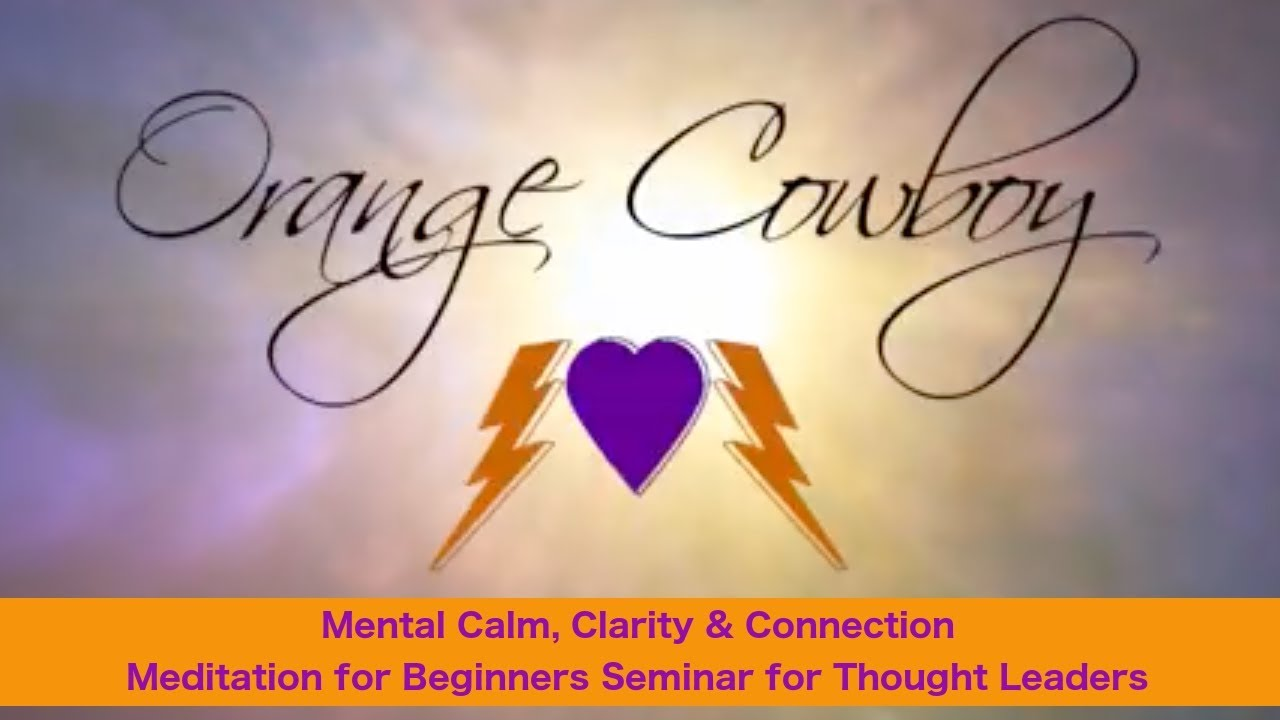 Beginner's Meditation Seminars with Swami, the Orange Cowboy