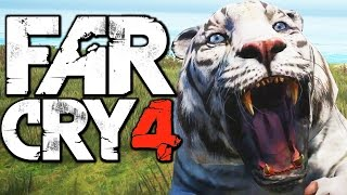 Far Cry 4 Funny Moments (Hunting Rare Bengal Sky Tiger, Honey Badger Fun)