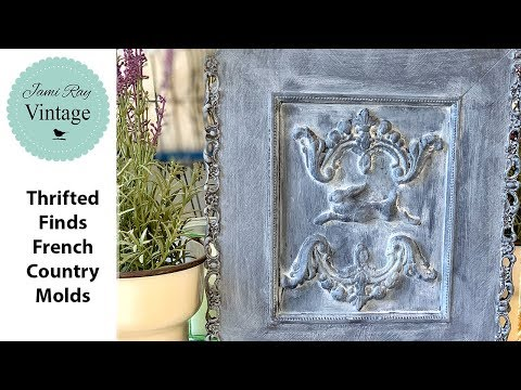 🔴 Thrifted Finds French Country Molds | WNW