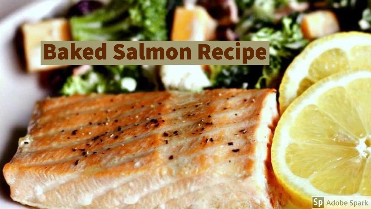 Baked Salmon with Brown Sugar Marinade