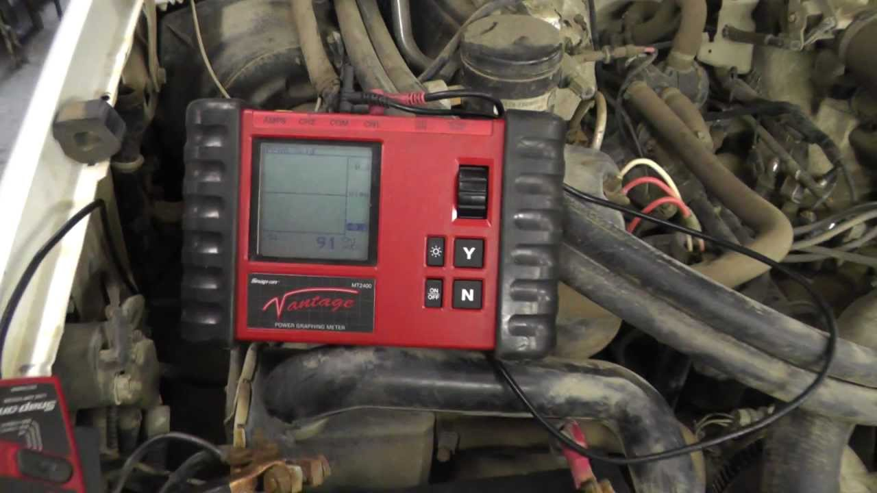 Truck Heater Wiring Diagram Crazy Battery Drain 1997 F250 Ford Truck Youtube