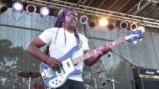 "Death performs ""Keep On Knocking"" at AFROPUNK FEST 2013"