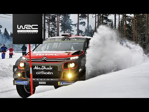 WRC - Rally Sweden 2018: Highlights Stages 1-4