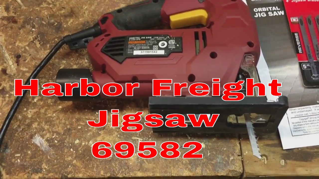 Harbor freight jigsaw 69582 youtube greentooth Images