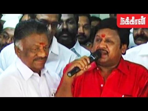 ஓபிஎஸ்-ன என்ன தெரியுமா.? Ramarajan Supports OPS as TamilNadu  Chief Minister