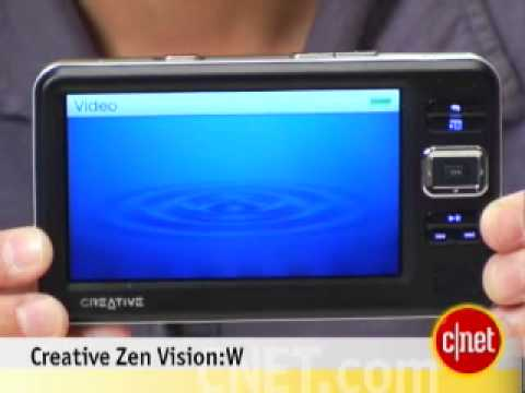 Creative Zen Vision W Review