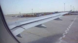 Jet blue Flight from New York JFK to Orlando International Airport  part 1 Taxing