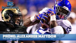 FOOTBALL: Boise St. Running Back Alexander Mattison