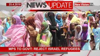 Mps ask Government  to reject Isreal refugees