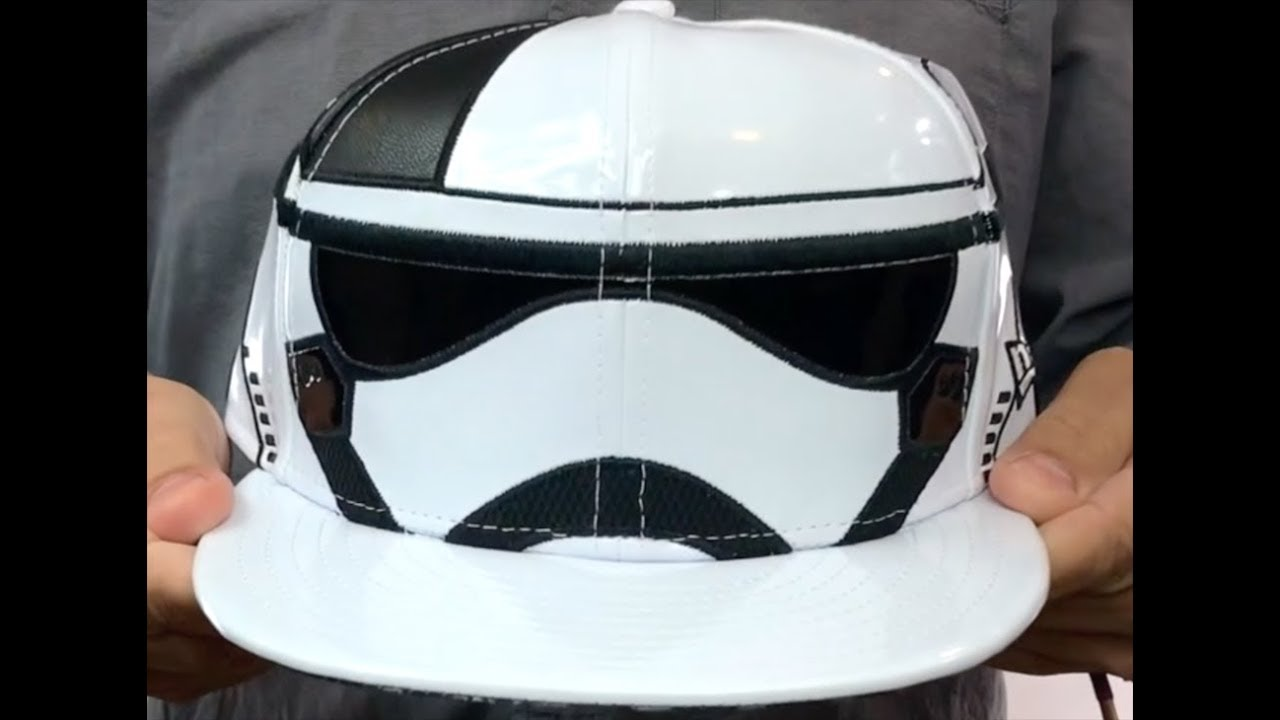 eee57d681fcae Storm Trooper  THE LAST JEDI CHARACTER FACE  Fitted Hat by New Era ...
