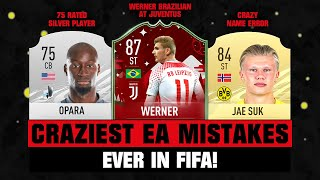 Craziest EA MISTAKES in FIFA EVER! 😂🤦‍♂️