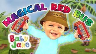 Baby Jake - Magical Red Bus | Full Episodes | Yacki Yacki Yogi | Cartoons for Kids