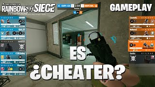 ¿Es CHEATER? | CRIMSON HEIST | Caramelo Rainbow Six Siege Gameplay Español