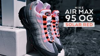 info for 8ea25 1291e FIRST LOOK  Air Max 95 OG  Solar Red    SHIEKH