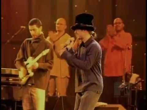 Jamiroquai - McLaren Formula 1 Launch Party, Alexandra Palace, London, UK, February 13th 1997