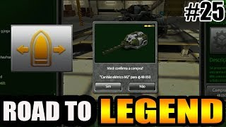Tanki Online Road To Legend (sem comprar cristal #25) Buying railgun M2 + Alteration