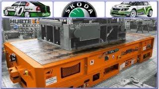 Самоходный транспортер HUBTEX до 63 тонн грузовая транспортная платформа автозавод SKODA(, 2013-09-19T10:44:29.000Z)