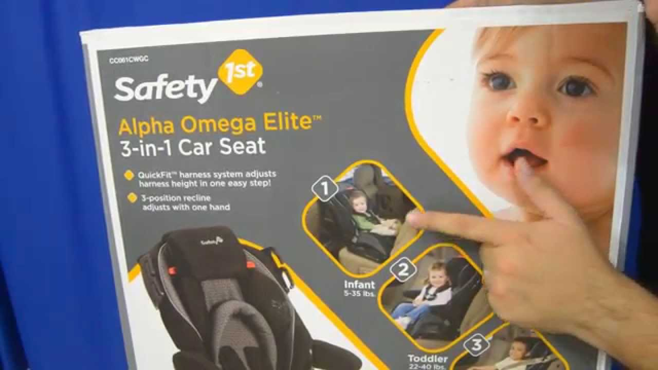 Alpha Omega Elite Car Seat Safety Rating