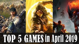 Top 5 Game Releases in April 2019