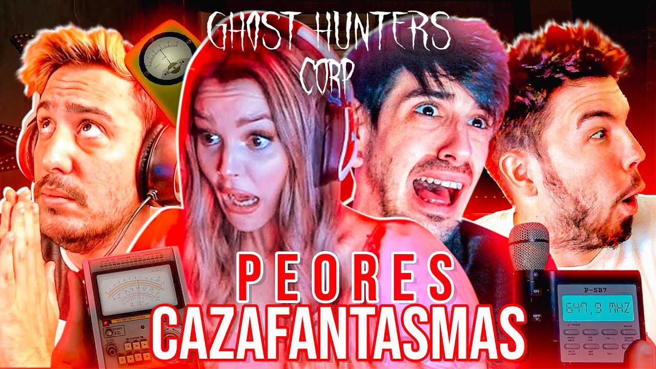 NUEVO JUEGO DE MIEDO !👻 MUCHAS RISAS !🤣 Ghost Hunters Aroyitt