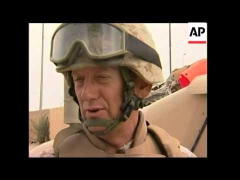US/Iraqi joint patrols in Fallujah