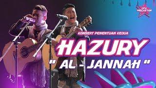 Download lagu Sayu dengar Hazury dendang lagu Al-Jannah Mawi | Ceria Megastar