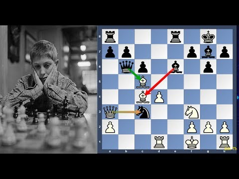 Byrne vs Bobby Fischer. An Absolutely Fantastic Game Whether The Game of The Century Or Not.