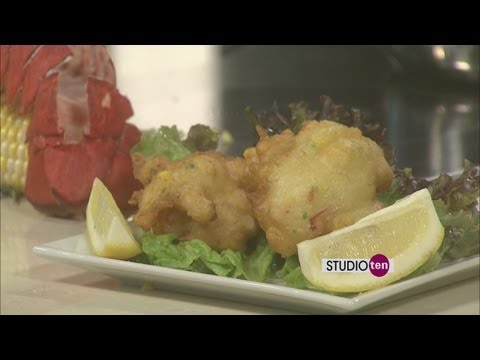 Lobster Fritters