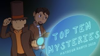 Top Ten Video Game Mysteries (Patreon Reward)