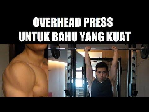 Cara Latihan Bahu Overhead Press Untuk Bahu Yang Kuat ! By Brodibalo