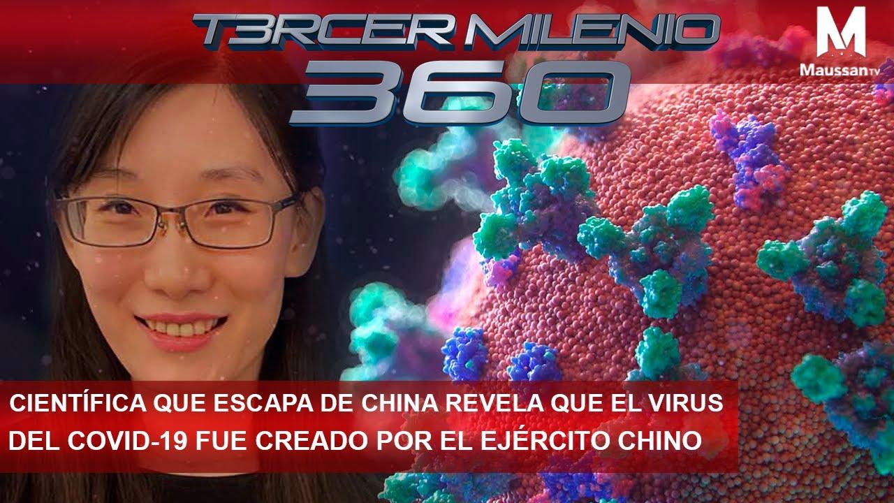Científica que escapa de China revela que el Virus del Covid-19 fue creado por el ejército chino