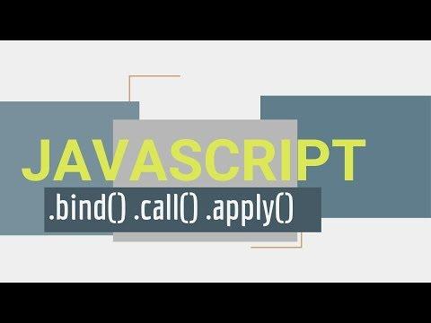 call apply bind in javascript
