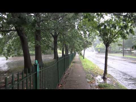 Watsessing Park water 8.28.13