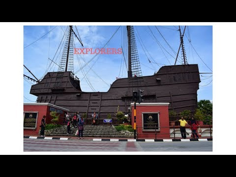 ST. PAUL'S CHURCH │CHINATOWN │CHINESE TEMPLE │MELAKA (MALACC