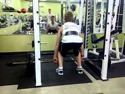 14 year old- deadlifting 225