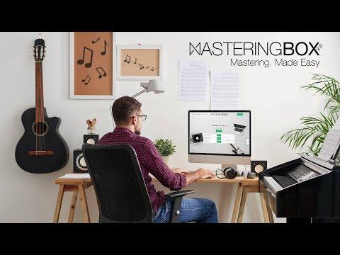 MasteringBOX 2.0: Audio Mastering. Made Easy