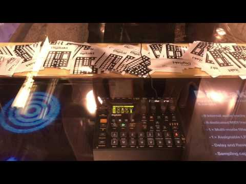Elektron Digitakt Digital Drum Machine at NAMM 2017