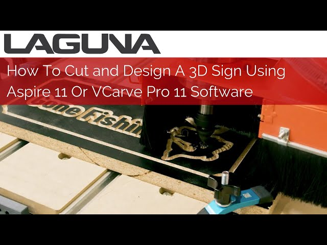 How To Design A 3D Sign Using Aspire V11 Or VCarve Pro 11 Software   Signmaking Software Tutorial