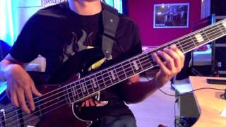 Simple Minds - Love Song (Bass Cover)