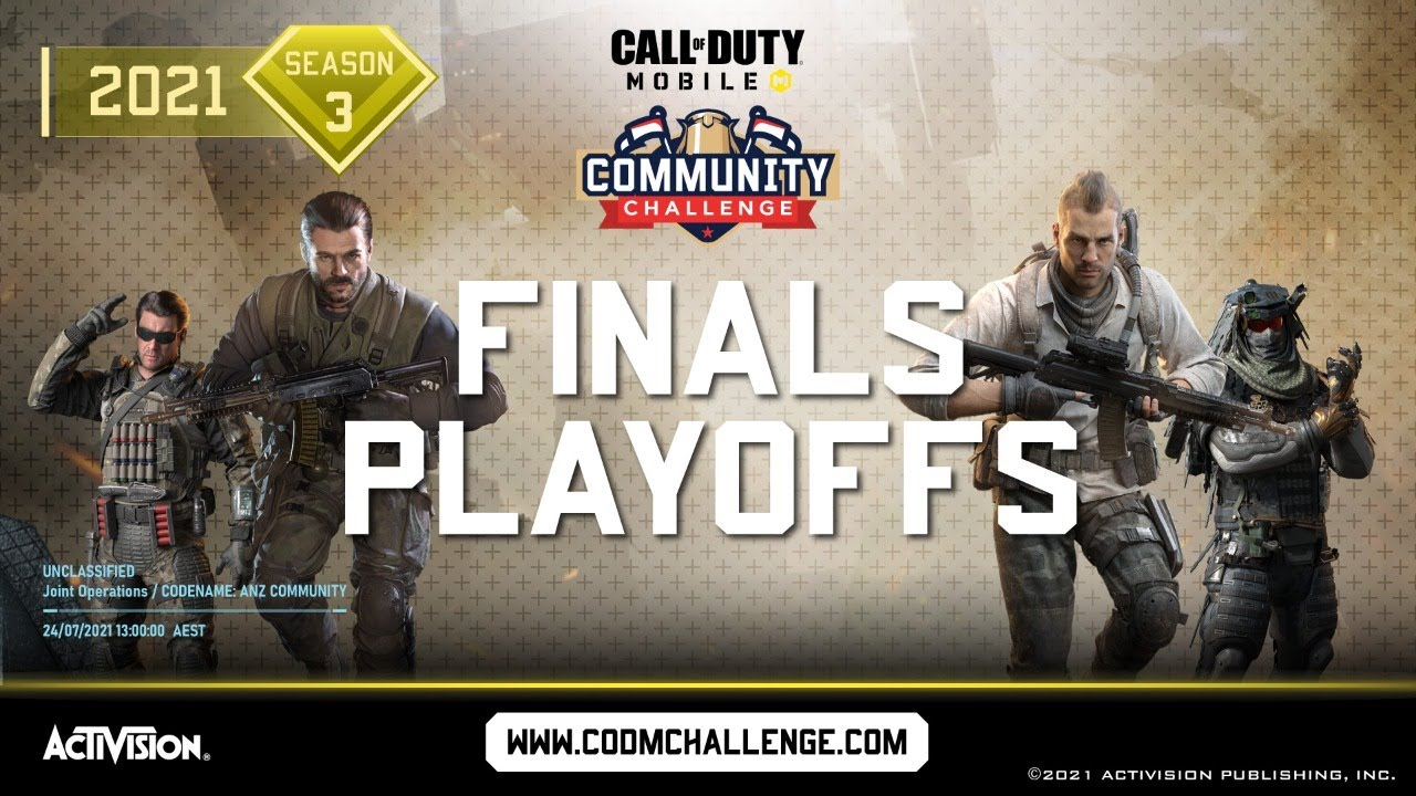 Call of Duty®: Mobile - Community Challenge ANZ Playoffs (AU)