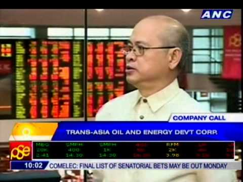 Company Call: Trans-Asia Oil and Energy Dev't Corp