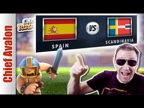 MGL WORLDS: SPAIN vs SCANDINAVIA | Clash Royale eSports