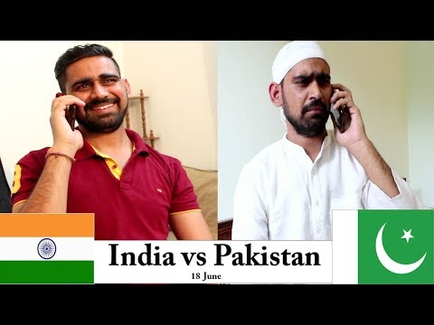 India vs Pakistan | Mauka Mauka | 18th June | Desistar | PK
