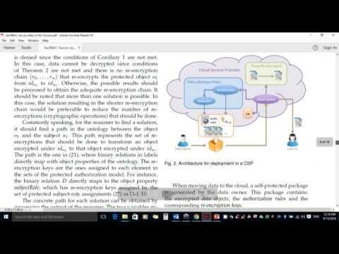 SecRBAC: Secure data in the Clouds(IEEE 2016-JAVA)