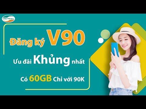 Đăng Ký V90 Viettel   Hướng Dẫn Cách Đăng Ký 4G Viettel Gói V90 Mới Nhất