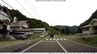 20121006 国道113号 高畠町二井宿~七ヶ宿町滝ノ上
