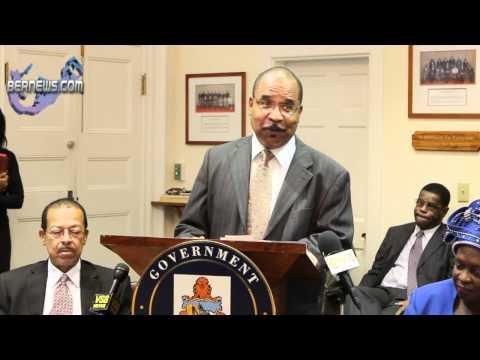 Minister Glenn Blakeney's Post Throne Speech Address