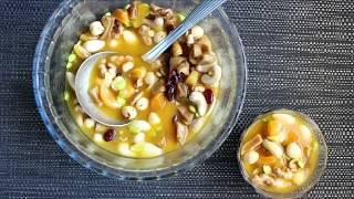 ХУШАФ  Арабская кухня Холодный десерт с орехами