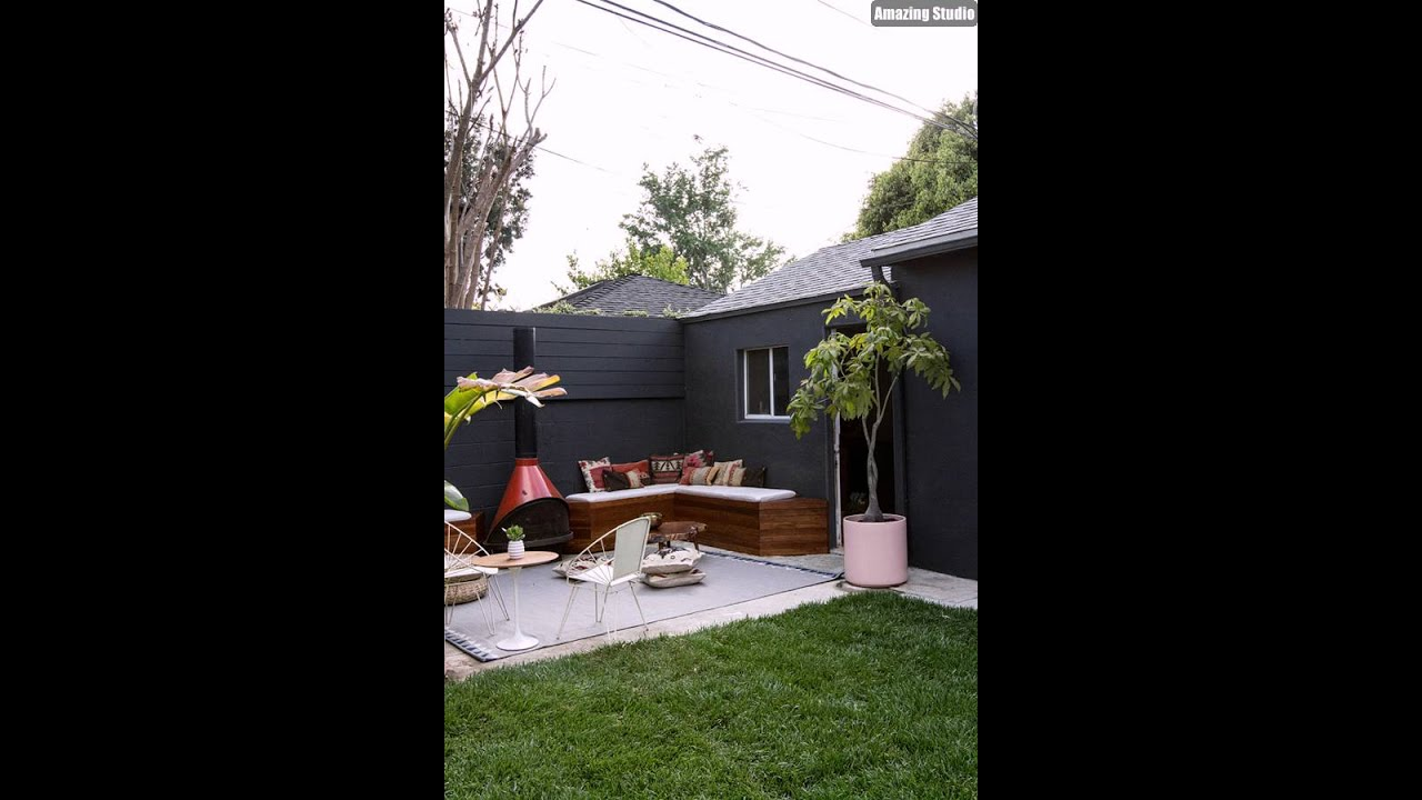 DIY Backyard Seating Ideas - DIY Backyard Seating Ideas - YouTube