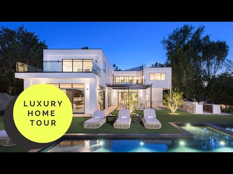 $5 MILLION DOLLAR LUXURY HOME TOUR   LOS ANGELES